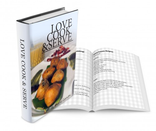 Love Cook Serve Recipe Cookbook