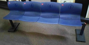 Original seats from the 1996 Olympics were auctioned off following the end of the Centennial Games