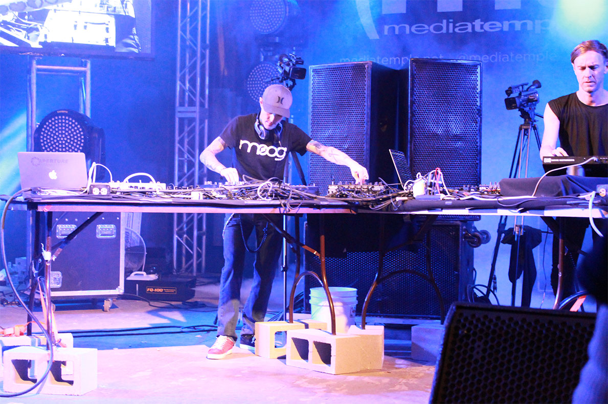 Deadmau5 performing at SXSW Interactive 2013