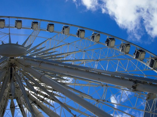 Downtown Atlanta Ferris Wheel Skyview