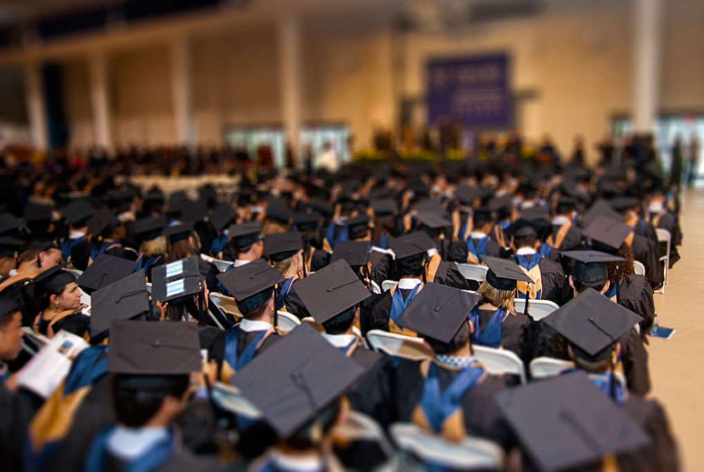 Tilt-Shift Graduation