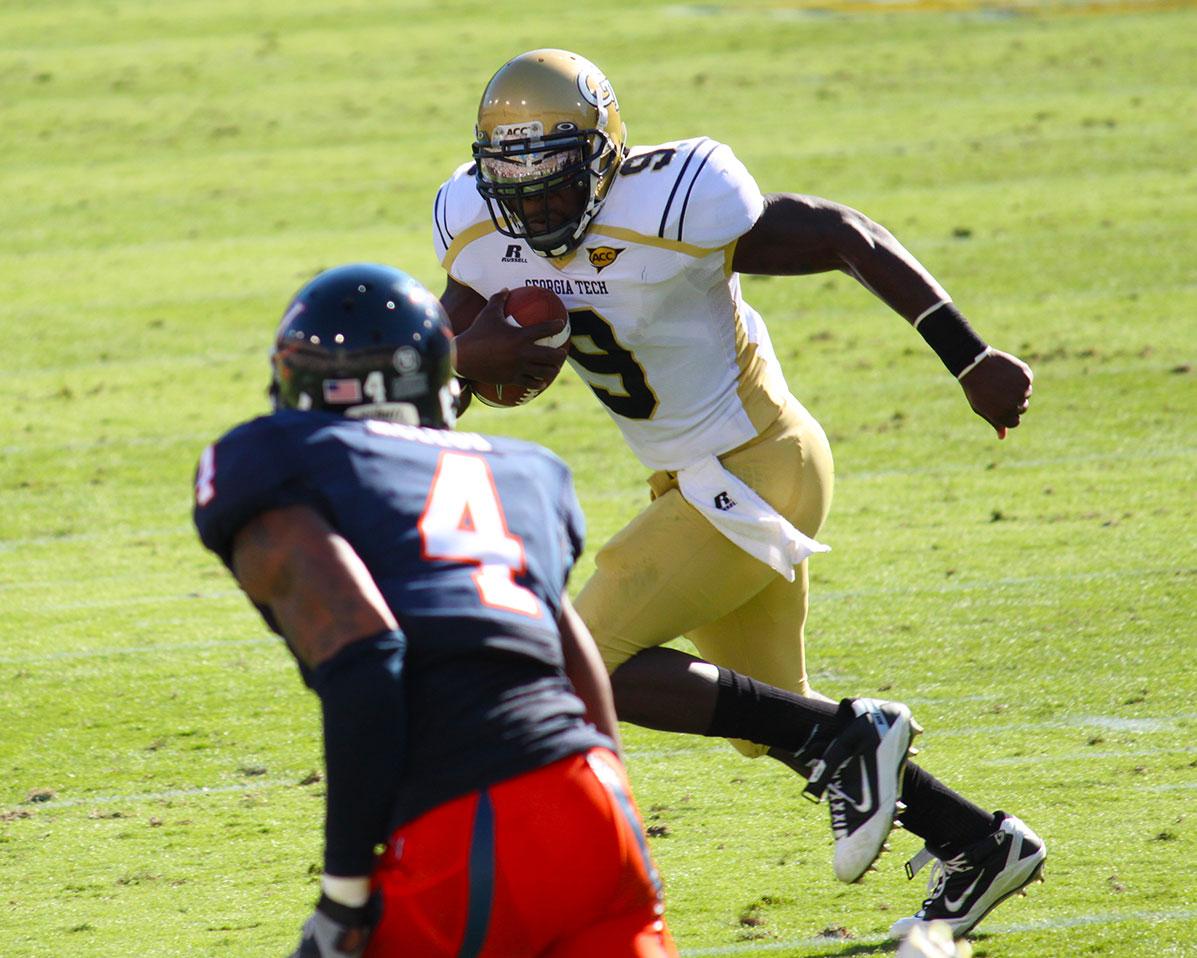 Josh Nesbitt - Georgia Tech vs UVA, 2010